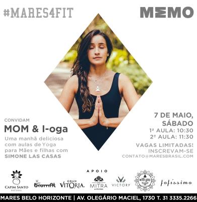 YOGA – MOM & I-oga – DIA 07 DE MAIO